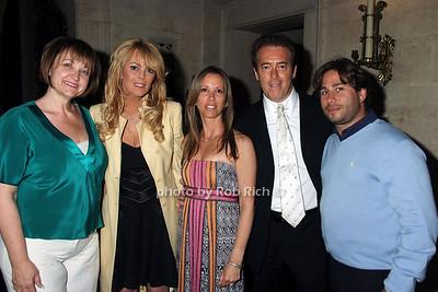 Debbe Magnusen, Dina Lohan, Lauren Egna, Paul Sullivan, Mike Heller photo by Rob Rich © 2008 516-676-3939 robwayne1@aol.com