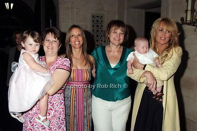 Grace Duncan, Jenny Duncan,Lauren Egna, Debbe Magnusen, Eddie Covino, Dina Lohan photo by Rob Rich © 2008 516-676-3939 robwayne1@aol.com