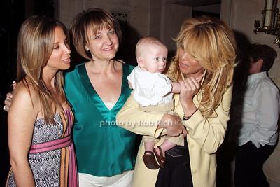 Lauren Egna, Debbe Magnusen, Eddie Covino, Dina Lohan photo by Rob Rich © 2008 516-676-3939 robwayne1@aol.com