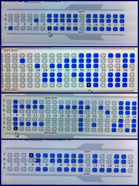 Day 108: Plane Seats