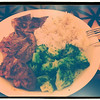 Day 41: Beef Steak with Brocolli and Rice