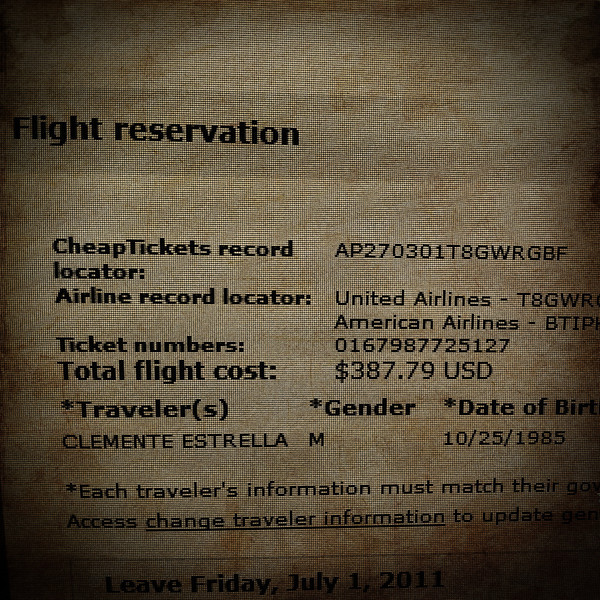 Day 134: Flight Reservation