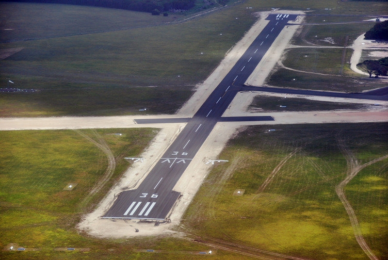 Mallacoota Aerodrome...North/South runway sealed...project completed..