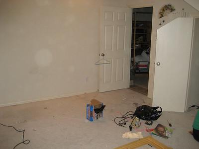 Preparing room.