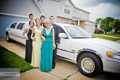 in front of limo-0214