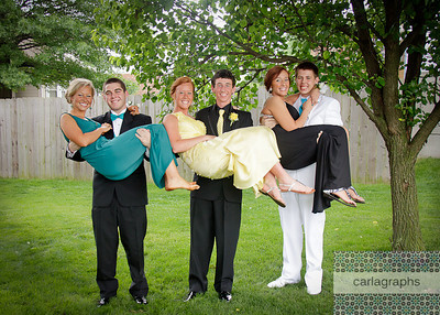Prom - Boys Hold Girls-