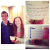 Sean Sandifer asked Jantzen Michael to prom on a fruit cup.