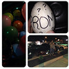 Randy Clough asked McKenzie Brown to prom on a bunch of balloons.