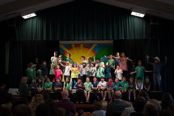 Prospect Sierra 4th grade play