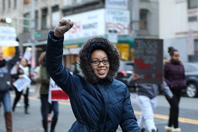 Rutgers-Newark/NJIT Organized #ShutItDown Protest in Downtown Newark