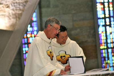 Fr. Cassidy and Fr. Nguyen