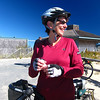 Amy and the rest of us biked out to Race Point-