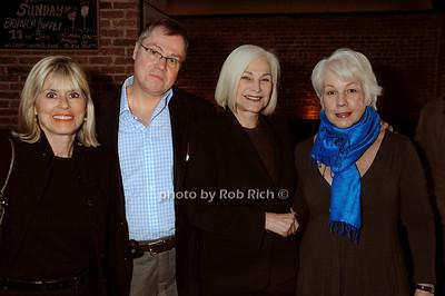 Catherine Ross, Tom Farley, Gioia di Paolo, Barbara Cavanagh -photo by Rob Rich © 2009 516-676-3939 robwayne1@aol.com