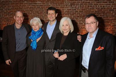 Sean Cassidy,  Barbara Cavanagh , Gerry Logue, Gioia di Paolo,  Tom Farley -photo by Rob Rich © 2009 516-676-3939 robwayne1@aol.com