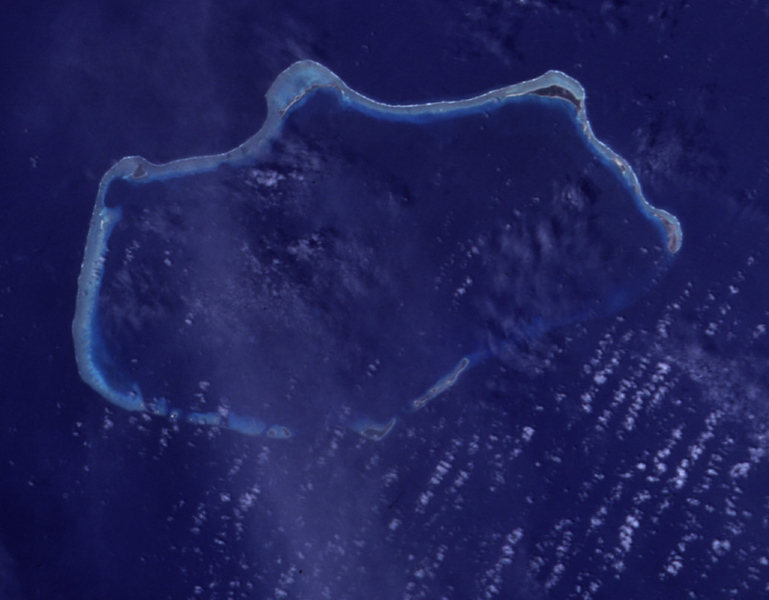 Bikini Atoll, Marshall Islands (Image courtesy of Wikimedia Commons)