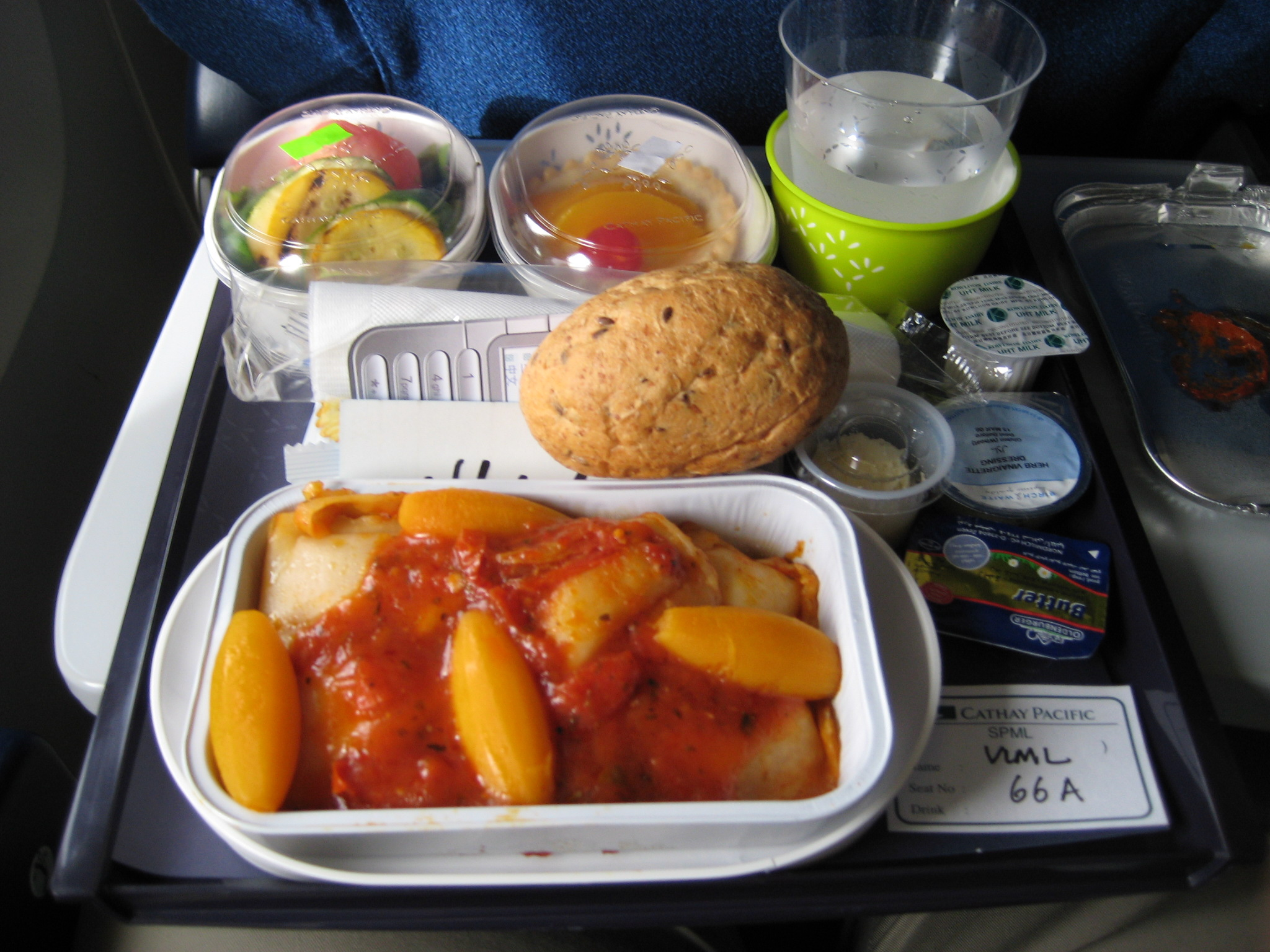 Low Carb Options When Flying