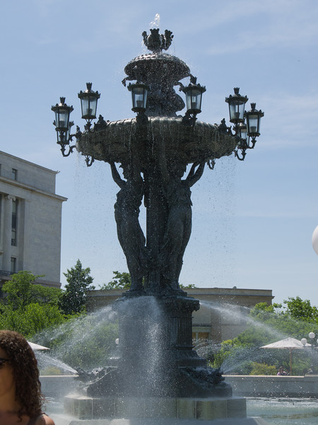 Fountain by Bartholdi - in Bartholdi park