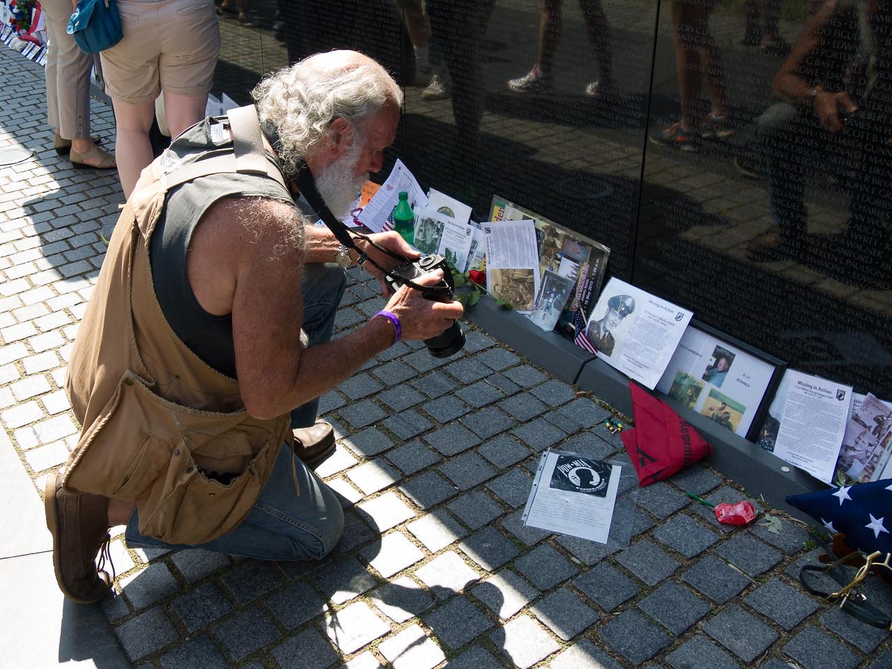 A rolling thunder participant - Vietnam veteran