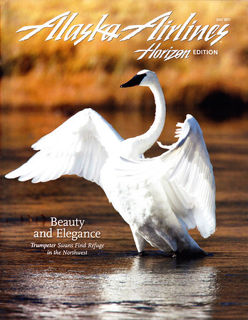 Alaska Airlines Magazine (Cover Image)