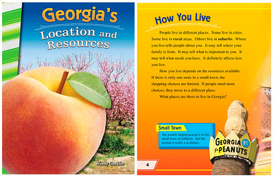 Georgia's Location and Resources (Children's Book)