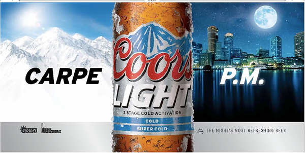 Coor's Light Beer Advertisement