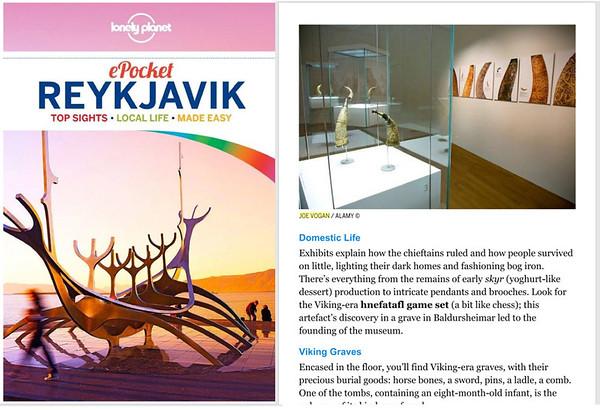 Lonely Planet Reykjavik (2017)