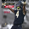 Wake Forest Kickoff (Game Program) - Cover, November 2019