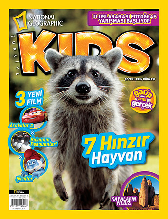 National Geographic Kids Magazine (Cover-April 2011)
