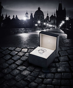 Jewelry Advertisement (Australia) Image: Charles Bridge, Prague