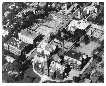 1927 campus aerial
