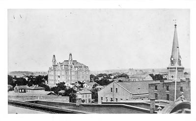1880 campus aerial