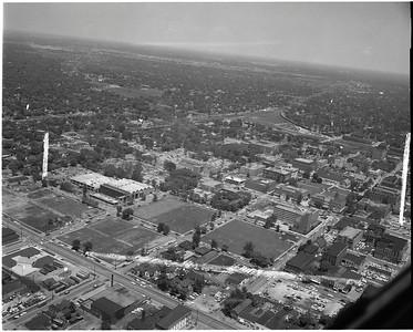 1961 campus aerial
