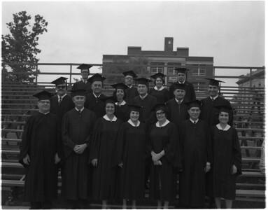 Cuban students - Cuban students at graduation in 1965