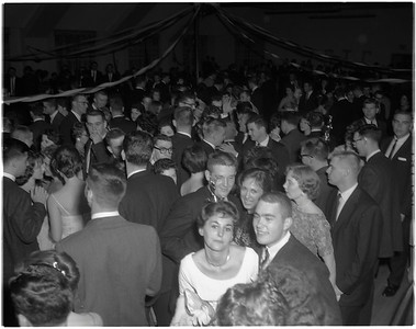 Homecoming - Students attend the homecoming dance on Oct  8, 1960