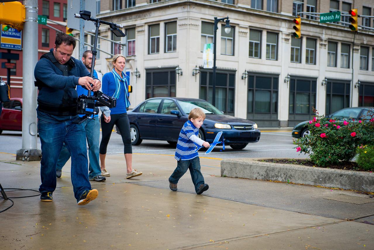 Snapshots of commercial shoot October 2012