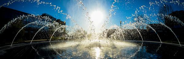 Fountain Silhouette