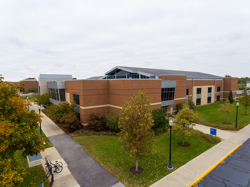 Aerial Campus Scenes