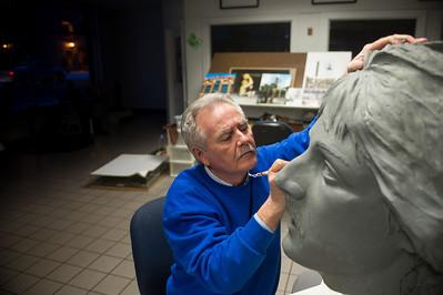 Artist Bill Wolfe