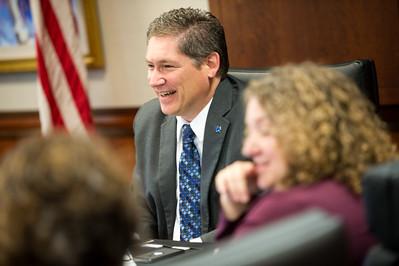 Provost Mike Licari