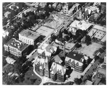 CAMPUS LIFE - 1927 campus aerial