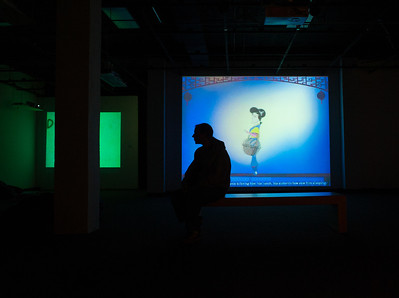 Turman Gallery, located in the Fine Arts Building, hosts Digital Noise: An Exhibition of Selected Digital Art Student Works