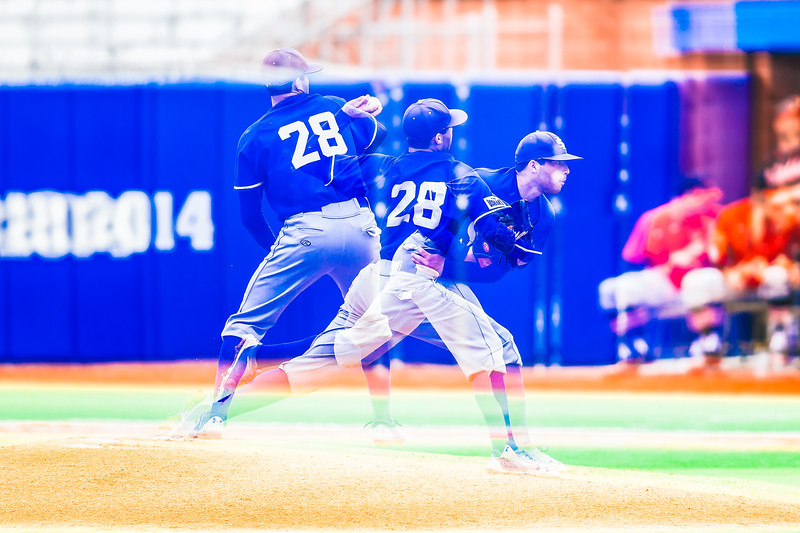 Indiana State baseball takes on Illinois State University at Bob Warn Field on April 14, 2018.