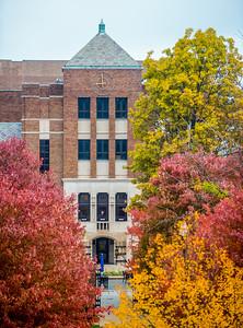 Tirey Hall in fall of 2013