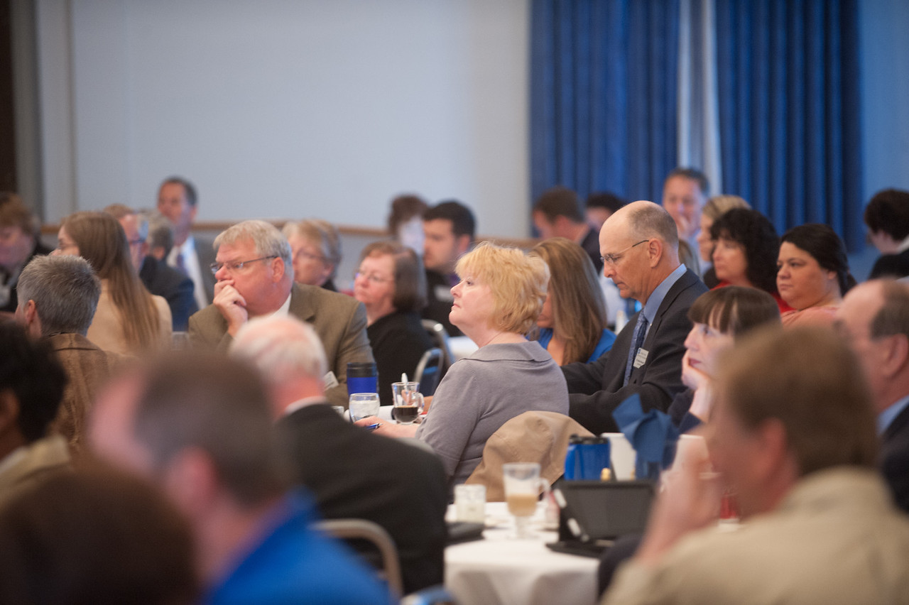 Stakeholders conference opening session in Heritage Ballroom