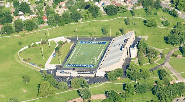 football, memorial stadium