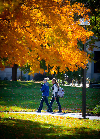 Images of Campus in fall of 2012