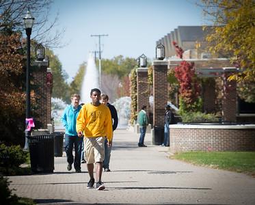 campus scenes - fall
