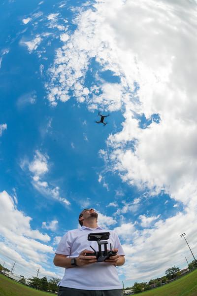 UAV flight at Rec East
