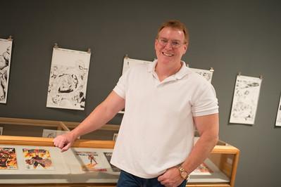 Comic book artist Greg Land
