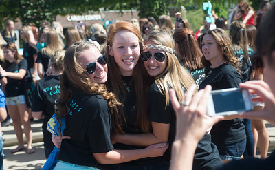 Sorority bid day 2014